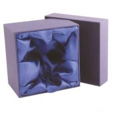 BLUE PRESENTATION BOX FITS 1 WHISKEY TIGHT