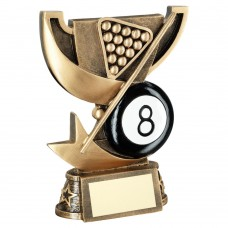 BRZ/GOLD CUP RANGE FOR POOL TROPHY - 5in