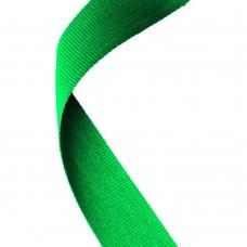 MEDAL RIBBON GREEN - 30 X 0.875in