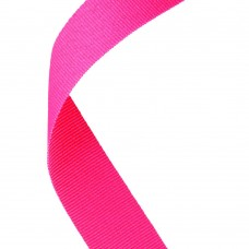 MEDAL RIBBON BRIGHT PINK - 30 X 0.875in