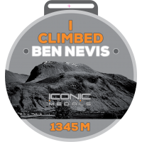 BEN NEVIS Climb Medal