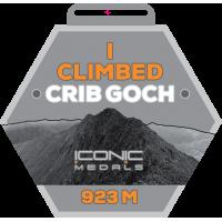 CRIB GOCH Climb Medal